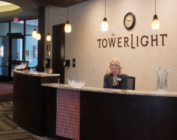 Tower Light Senior Care Concierge Desk